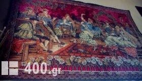 ισπανικη  σπανια  ταπισερι απο καλιτεχνη του 1880 ο αυθετκοσ ειναι  σε μουσιο αξιας  εκατονταδων χιλιαδων ευρω
