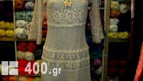 μοντέρνα πλεκτά φορέματα