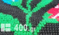 ΚΩΔ 5003 ΠΑΤΑΚΙ ΟΛΟΜΑΛΛΟ ΚΕΝΤΙΝΟ ΧΕΙΡΟΠΟΙΗΤΟ ΣΤΑΥΡΟΒΕΛΟΝΙΑ ΦΤΙΑΧΜΕΝΟ  ΣΤΟ ΧΕΡΙ ΚΑΙ ΜΕ ΒΑΜΒΑΚΕΡΗ ΕΠΕΝΔΥΣΗ ΑΠΌ ΚΑΤΩ ΜΕ ΣΧΕΔΙΟ ΥΦΑΝΣΗΣ ΛΟΥΛΟΥΔΙΑ 160cmX60cm (ΑΧΡΗΣΙΜΟΠΟΙΗΤΟ) ΠΟΣΟΤΗΤΑ 2