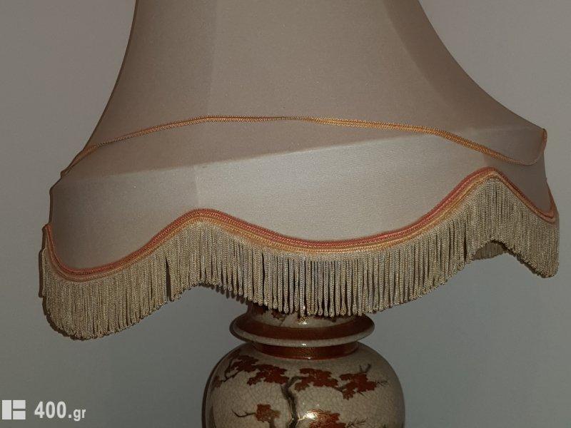 Επιτραπέζιο φωτιστικό πορσελανης
