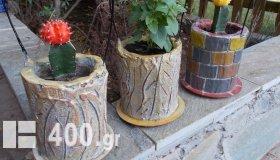 Γλαστράκια για Κακτάκια και Αρωματικά φυτά