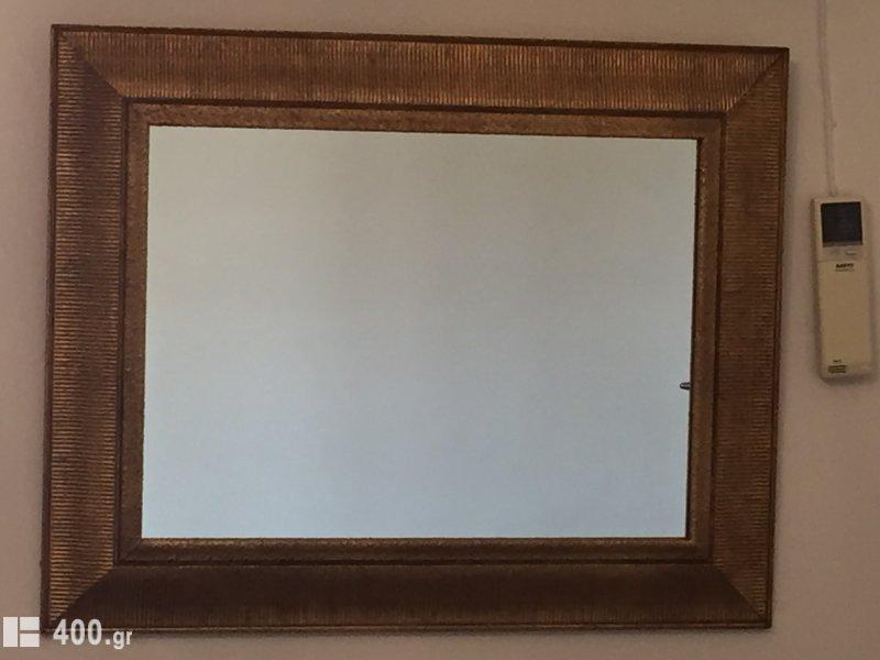 Χειροποίητος ξύλινος καθρέφτης