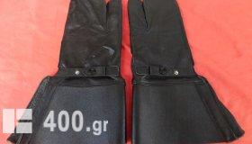 Παλιά δερμάτινα στρατιωτικά γάντια του Σουηδικού στρατού.