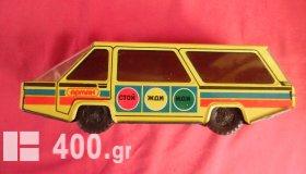 Τσίγκινο USSR minibus παιχνίδι της δεκαετίας του '60.