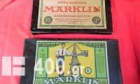 MARKLIN METALL- BAUKASTEN (μεταλλικές κατασκευές) Νο 1 & Νο 1Α της δεκαετίας του '40.