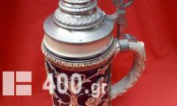 Παλιό μεγάλο ποτήρι μπύρας