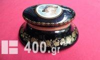 Limoges χειροποίητη μεγάλη πορσελάνινη μπιζουτιέρα - διακοσμητικό κουτί.