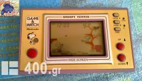 Nintendo Game&Watch Snoopy Tennis